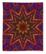 Kaleidoscope 816 Fleece Blanket