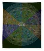 Kaleidoscope Eye Fleece Blanket