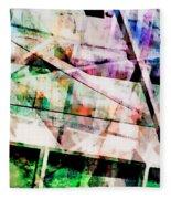 Kaleidoscope Vision Fleece Blanket