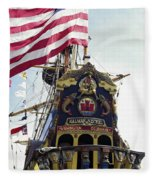 Kalmar Nyckel Tall Ship Fleece Blanket