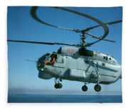 Kamov Ka-27 Fleece Blanket