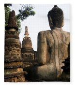 Kamphaeng Phet Fleece Blanket