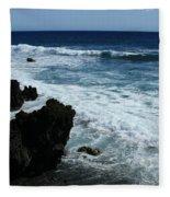 Kanaio Ahihi Kinau Maui Hawaii Fleece Blanket