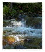 Kanaka Creek Fleece Blanket