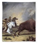 Kane: Buffalo Hunt Fleece Blanket