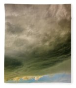 Kansas Storm Chasing 011 Fleece Blanket