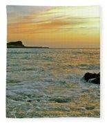 Kaohikaipu Island Sunrise  658 Fleece Blanket