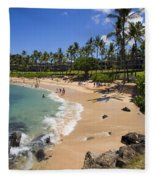 Kapalua Beach Resort Fleece Blanket