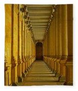Karlovy Vary Colonnade Fleece Blanket