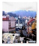 Karlovy Vary Cz Fleece Blanket