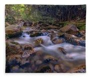 Katahdin Stream Fleece Blanket