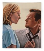 Kate Winslet And Leonardo Dicaprio Fleece Blanket