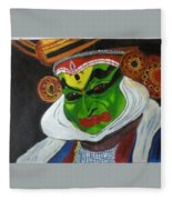 Kathakali Fleece Blanket