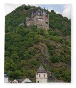 Katz Castle And Village Fleece Blanket