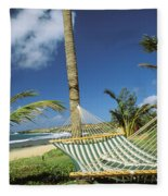 Kauai Hammock Fleece Blanket
