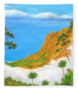 Kauai Hawaii Fleece Blanket