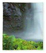 Kauai Inland Falls Fleece Blanket