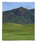 Kauai Marriott Golf Cours Fleece Blanket