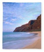 Kauai, Polihale Beach Fleece Blanket