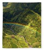 Kauai Rainbow Fleece Blanket