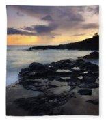 Kauai Storm Passing Fleece Blanket
