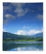 Kauaihai Ridge Fleece Blanket