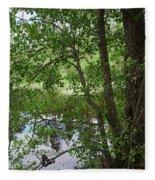 Kaulanen Lake Fleece Blanket