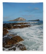 Kaupo Beach Fleece Blanket