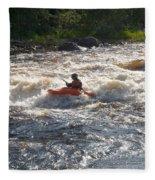 Kayak 1 Fleece Blanket