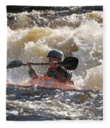 Kayak 6 Fleece Blanket