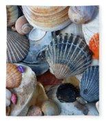 Kayla's Shells Fleece Blanket