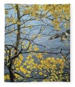 Kb Bateman Aspen And Kingfisher Robert Bateman Fleece Blanket