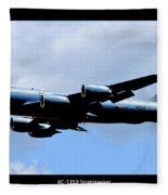 Kc-135r Stratotanker Poster Fleece Blanket