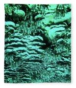 Kealakekua Plate Coral Fleece Blanket