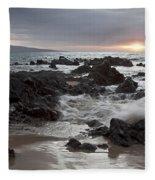 Keawakapu Kahaulani Dew Of Heaven Maui Hawaii Fleece Blanket
