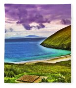 Keem Bay - Ireland Fleece Blanket