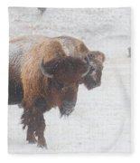Keep Moving Fleece Blanket