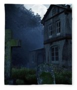 Keepers Of The Manor  Fleece Blanket