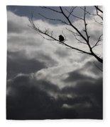 Keeping Above The Storm Fleece Blanket