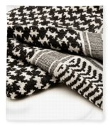 Keffiyeh Fleece Blanket