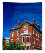 Kehoe House Savannah Georgia  Fleece Blanket