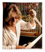 Keith Emerson By Gene Martin Fleece Blanket