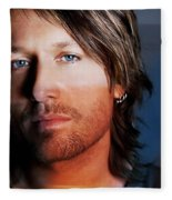 Keith Urban  Fleece Blanket