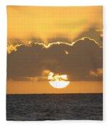 Kekaha Sunset Fleece Blanket