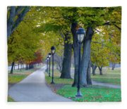 Kelly Drive In Autumn Fleece Blanket