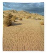 Kelso Dunes Mojave Preserve Portrait Fleece Blanket
