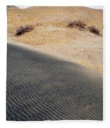 Kelso Dunes Portrait Fleece Blanket