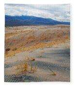 Kelso Dunes Winter Fleece Blanket