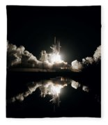 Kennedy Space Center, United States By Nasa Fleece Blanket