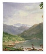 Kentucky River Fleece Blanket